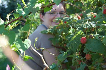 Raspberries and Joy