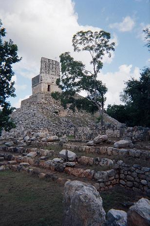 Comb of a Mayan Ruin