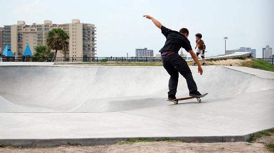 Skaters in Corpus Christi