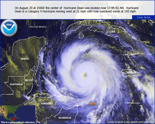 Hurricane DeanNOAA