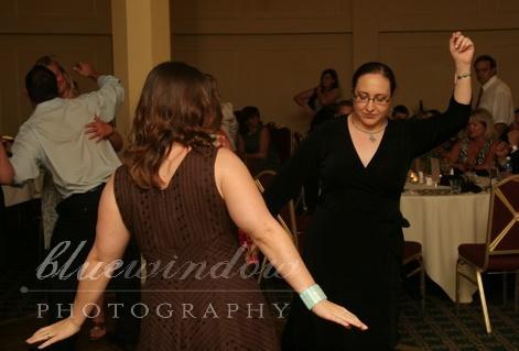 Joy and Dora dancing