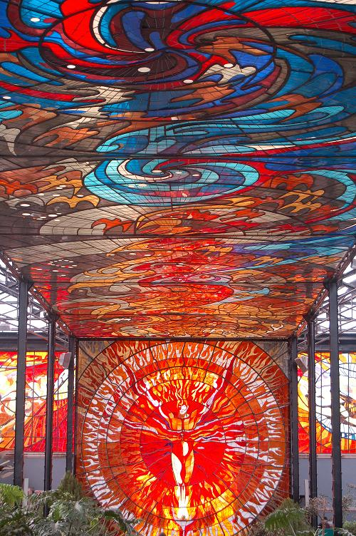 Holw Wow - Cosmovitral in Toluca Mexico