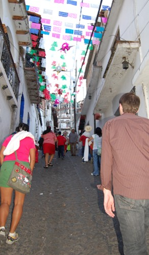 Walking Uphill in Taxco