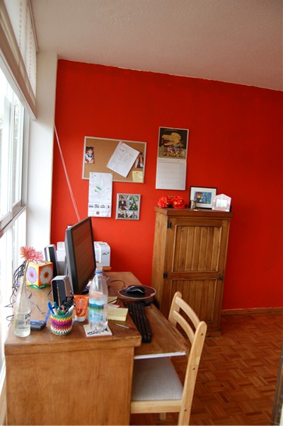 home office mexico. Home Office 2. (The Chair Behind My Desk Is Holding A Space Heater \u2014 It\u0027s Frigging Cold In Mexico City January!)