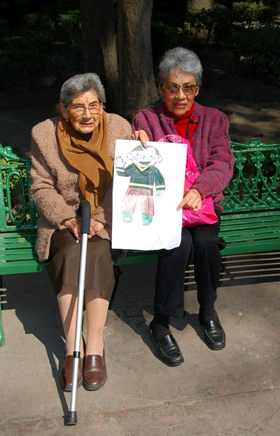 Flat Stanley Old Ladies