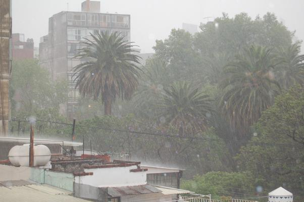 rain in mexico city