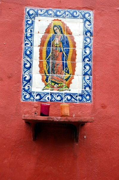 This one is on a wall next to Susana\'s mom\'s house.