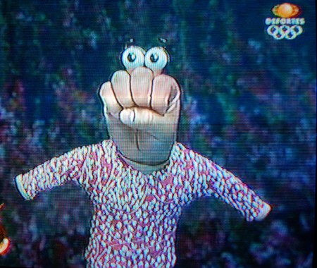 El Compayito, a long-standing personality on Televisa, Mexico's main TV channel.