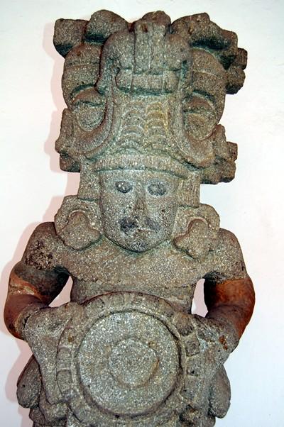 Aztec or Olmec (?) god of war.