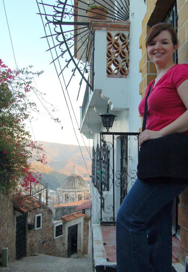 Joy in Taxco, Mexico.