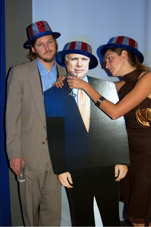 Erik and Jesica try to console a sad McCain.