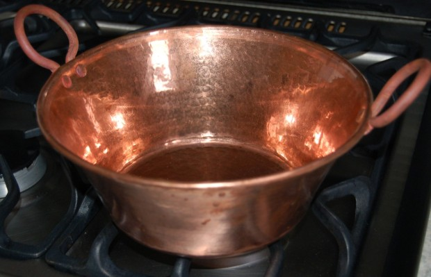 Copper cookware is supposed to be the chef's ultimate, because of how it conducts heat.