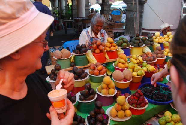 I love this photo because it sums up the best part about Mexico: How unendingly colorful it is.
