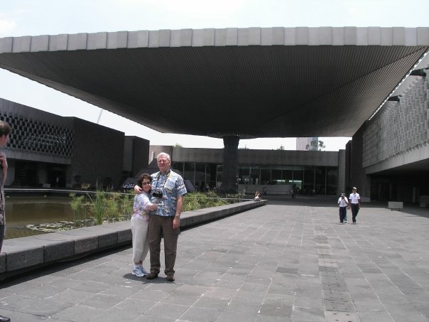 My parents are museum buffs, so the fantastic Mexico City anthropology museum made their day.